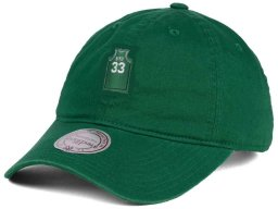 Larry Bird #33 Boston Celtics NBA Mitchell & Ness Name & Number Jersey Adjustable Dad Hat